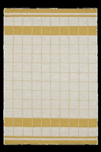BARI-villamatto 140x200 cm Luonnonvalkoinen/kaurankeltainen