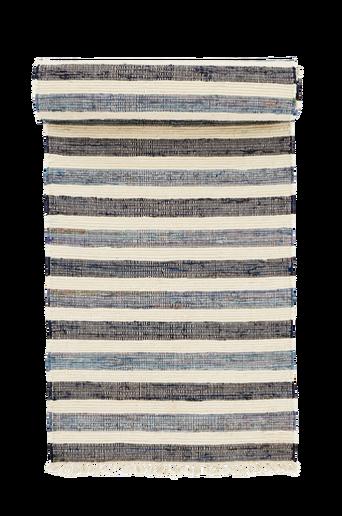 TIRIA-puuvillamatto 70x150 cm Sininen