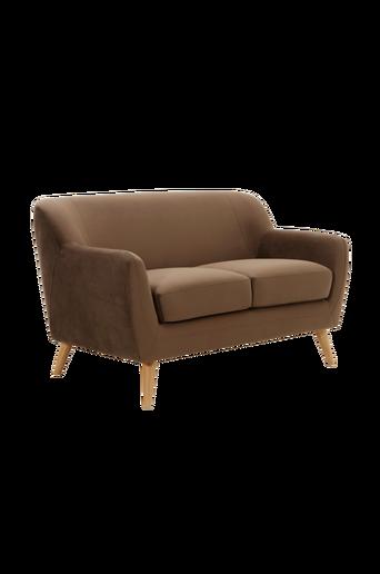 SOFT-sohva, 2:n istuttava Myyränruskea