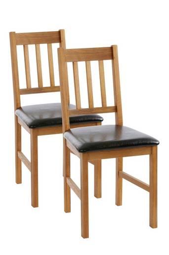 VALLDA-tuolit, 2/pakk. Tammiväri