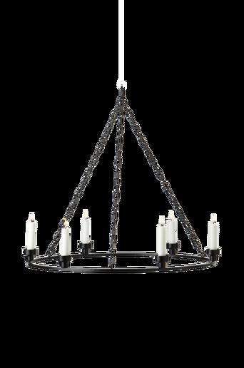 HAGA-kynttiläkruunu Musta