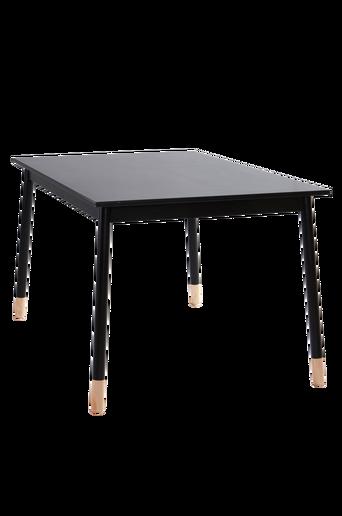 KINNA-ruokapöytä 90x140 cm Musta