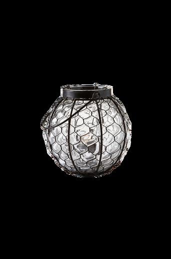 Pieni SVANEFORS-kynttilälyhty Musta/kirkas