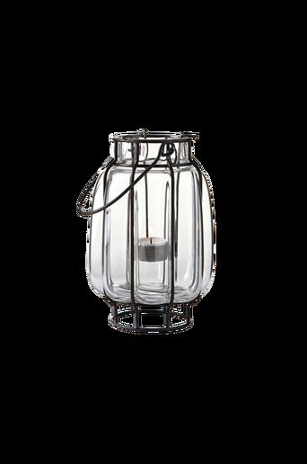 Pieni SVANEDAL-kynttilälyhty Musta/kirkas