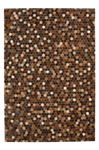 SOTTO-nahkamatto 200x300 cm Ruskea
