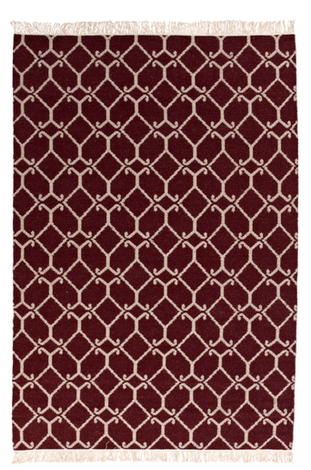 RAVENNA-villamatto 140x200 cm Punainen