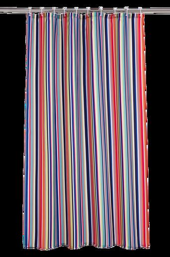 HAPPY STRIPE -suihkuverho Monivärinen