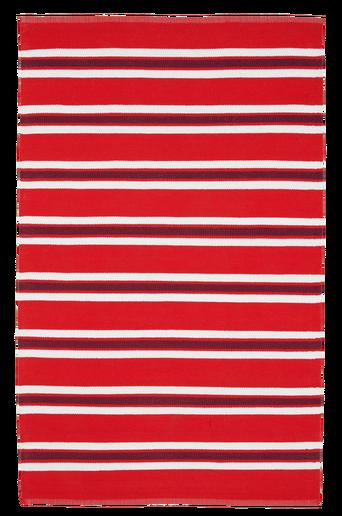 RANDY-muovimatto 130x190 cm. Punainen