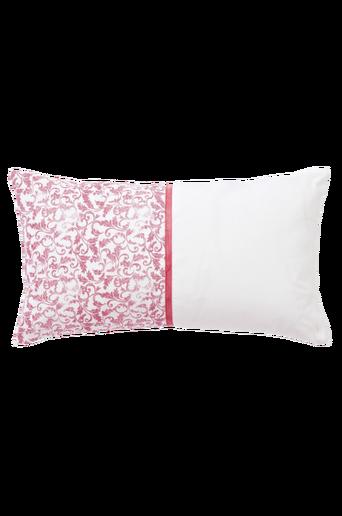 HUDSON-tyynynpäällinen 70x40 cm Roosa/valkoinen