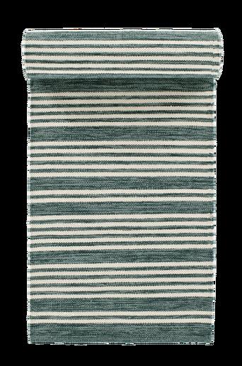 PESARO-puuvillamatto 70x250 cm Harmaanvihreä