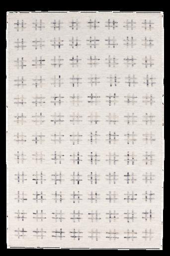 CATANIA-villamatto 160x240 cm Luonnonvalkoinen