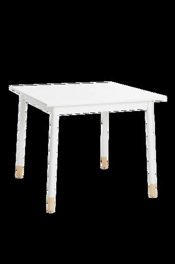 KINNA-ruokapöytä 90x90 cm Valkoinen