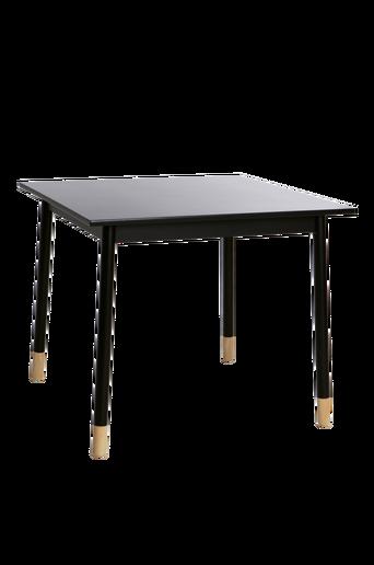 KINNA-ruokapöytä 90x90 cm Musta