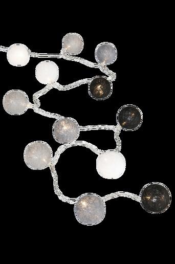 SIKIM-LED-valoköynnös - iso Valkoinen/harmaa/musta