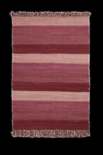 HARMONI-räsymatto, 130x190 cm Luumuliila