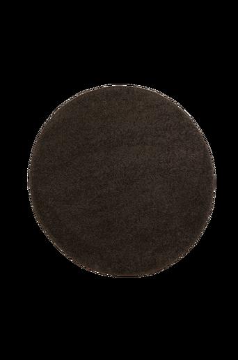 STAY-ryijymatto, ø 135 cm Tumma harmaanruskea