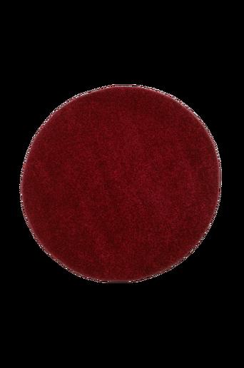 STAY-ryijymatto, ø 135 cm Viininpunainen