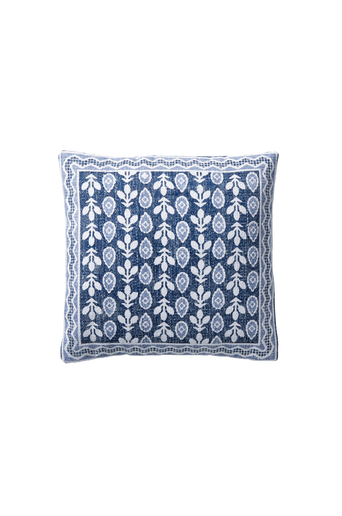 MELISSA LEAF -tyynynpäällinen 45x45 cm Deniminsininen