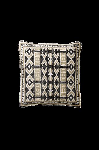 MALDINA KRYSS-tyynynpäällinen 45x45 cm Musta/beige