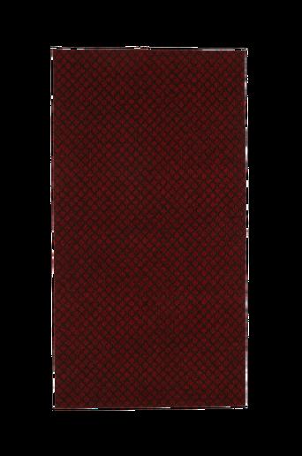 RUTAN-kuramatto, 80x150 cm Viininpunainen