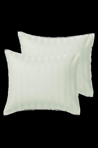 LINJE-tyynyliinat, 2/pakk. Vaalea mintunvihreä