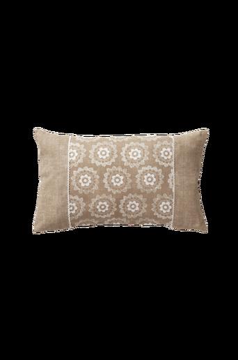 LACY DOYLEY -tyynynpäällinen 50x30 cm Pellavabeige