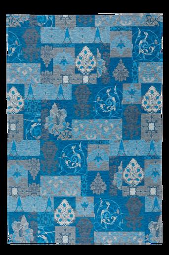 CROSIA-matto 155x230 cm Sininen