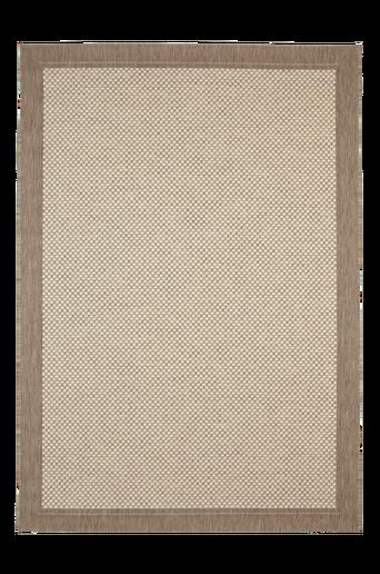TOSCANA-bukleematto 160x230 cm Ruskea/vaaleanruskea