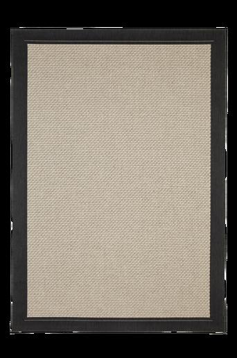 TOSCANA-bukleematto 160x230 cm Musta/harmaa