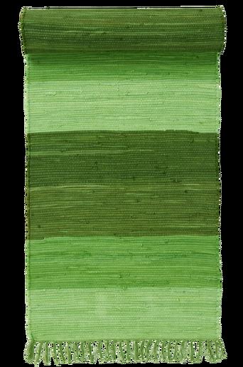 HARMONI-räsymatto, 70x200 cm Vihreä