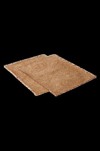 KORKY-pöytätabletit, 2/pakk. Korkinruskea