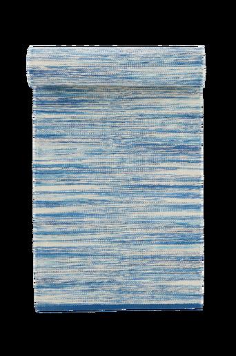 BIDONI-puuvillamatto 70x200 cm Sininen