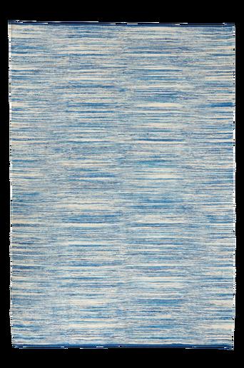 BIDONI-puuvillamatto 140x200 cm Sininen
