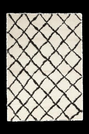 COSY-ryijymatto, 135x190 cm Valkoinen