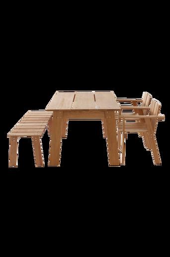 KUNGSBACKA-pöytä 90x140 cm Tammiväri