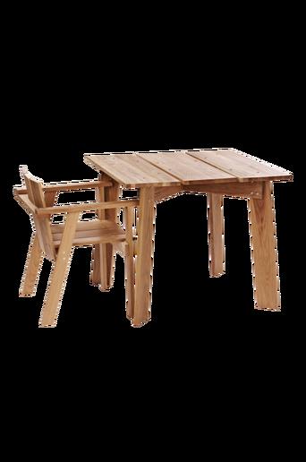 KUNGSBACKA-pöytä 90x90 cm Tammiväri