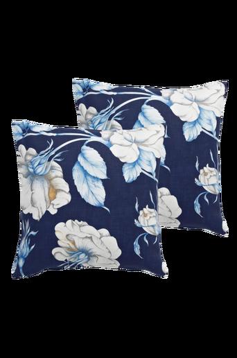 FLORALISA-tyynynpäälliset, 2/pakk. 45x45 cm Sininen