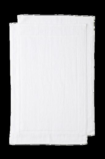 AMY-kylpyhuonematot, 2/pakk. Valkoinen