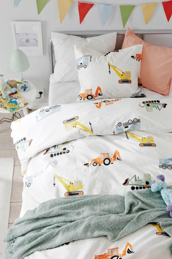Bilde av ALBIN sengesett 2 deler - økologisk - 30151