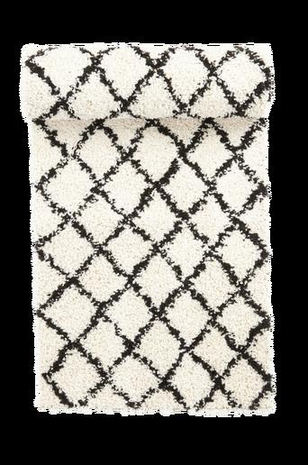 COSY-ryijymatto, 67x130 cm Valkoinen