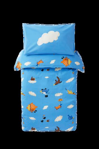 Vauvan FLAX-pussilakanasetti, 2 osaa – ekologinen Monivärinen