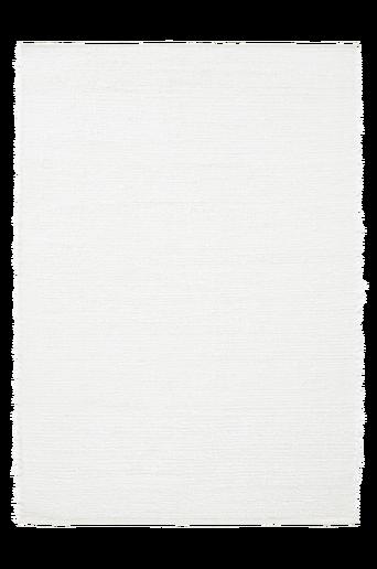 ALES-puuvillamatto 160x230 cm Valkoinen