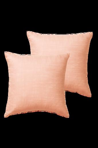 HILDA-tyynynpäälliset, 2/pakk. 45x45 cm Oranssi