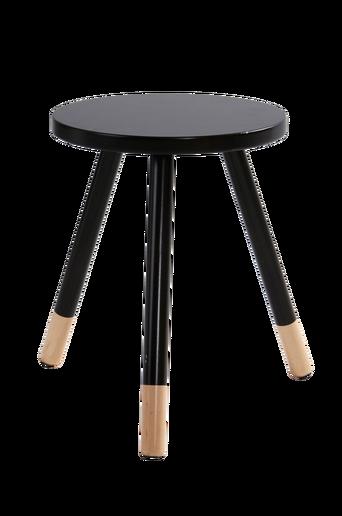 KINNA-jakkara/pöytä ø 35 cm Musta