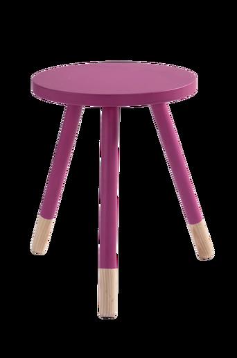 KINNA-jakkara/pöytä ø 35 cm Fuksianroosa