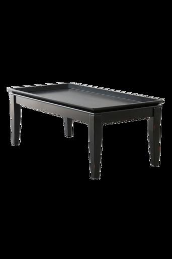 HÖGFORS-sohvapöytä 61x122 cm Musta
