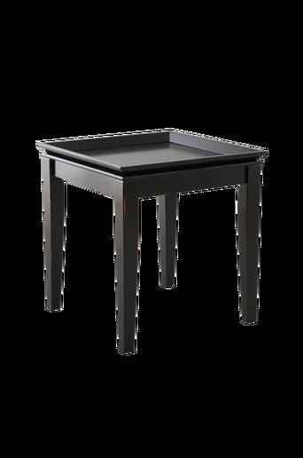 HÖGFORS-sohvapöytä 60x60 cm Musta