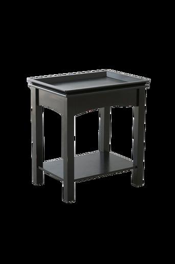 HÖGFORS-sohvapöytä 38x52 cm Musta