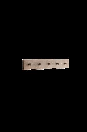 LAXVIKEN-naulakko, 5 koukkua Ruskea