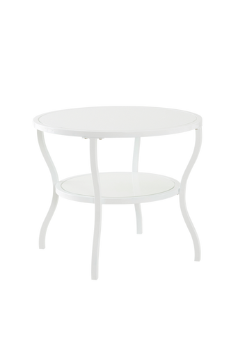 MORA-sohvapöytä ø 60 cm Valkoinen